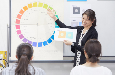 "自慢の講師陣 Point 1: Vision Next has top-notch instructors ""Mobile Campus"" ""Pro Teachers"""